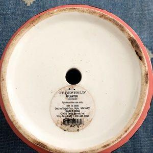 Target Accents - Threshold Target brushstroke ceramic planter